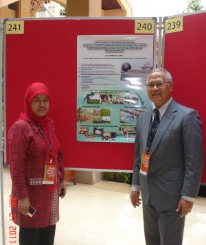 2 (two) Delegates of Bogor Agricultural University at the 2nd International Symposium on Underutilised Plant Species