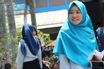 IPB Students Female in Action Movement Broke Through Four