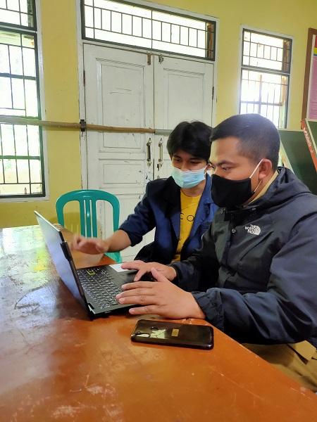 Mahasiswa IPB University Berikan Pendampingan Digitalisasi Desa di Sukabumi